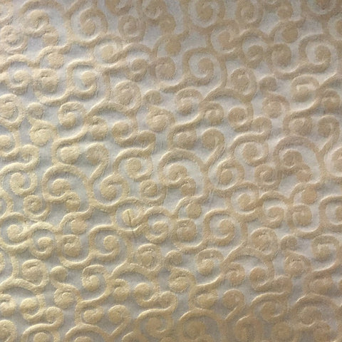 Golding Gold Swirl Decorator Fabric, Upholstery, Drapery, Home Accent, Golding,  Savvy Swatch