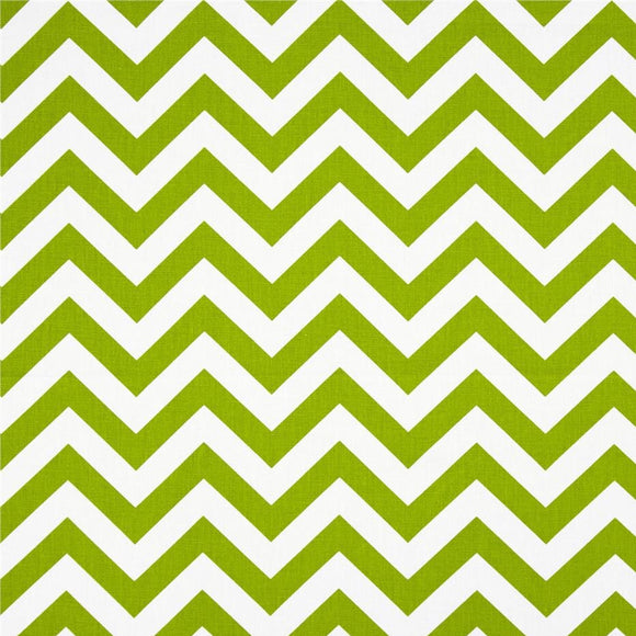 Premier Prints Zig Zag Chartreuse/White Decorator Fabric, Upholstery, Drapery, Home Accent, Premier Prints,  Savvy Swatch