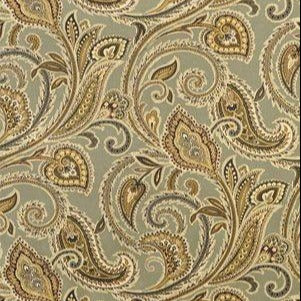 Vecellio Illusions Paisley Smoke Fabric, Upholstery, Drapery, Home Accent, Swavelle Millcreek,  Savvy Swatch
