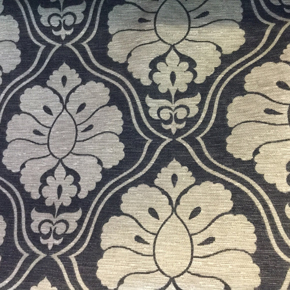 Jordan Pewter Decorator Fabric, Upholstery, Drapery, Home Accent, Golding,  Savvy Swatch