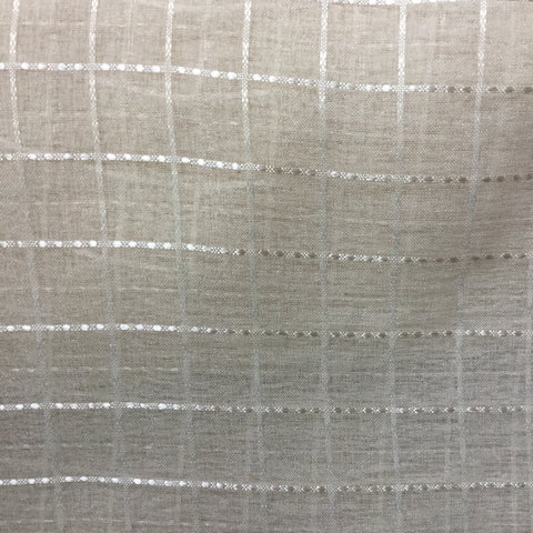 Textured Check Champagne Fabric, Upholstery, Drapery, Home Accent, ATI,  Savvy Swatch