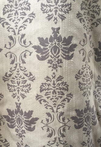 Victoria Gray Decorator Fabric, Upholstery, Drapery, Home Accent, Gum Tree,  Savvy Swatch