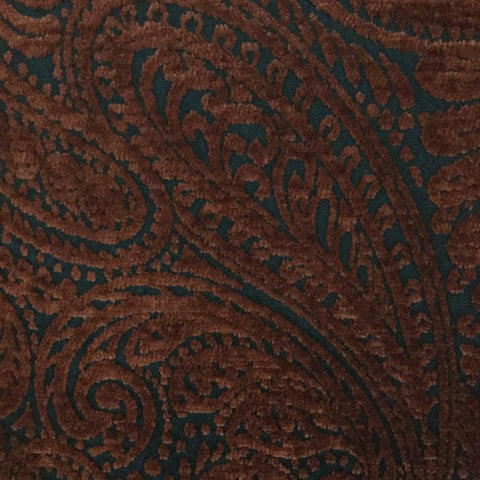 Noir Paisley B10882 Noir Decorator Fabric, Upholstery, Drapery, Home Accent, Merrimac Textile,  Savvy Swatch