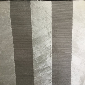 Silk Crafts Striped Platinum Decorator Fabric, Upholstery, Drapery, Home Accent, Silk Crafts,  Savvy Swatch