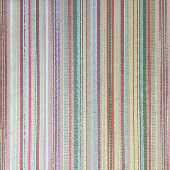 Enola Stripe Pesto Decorator Fabric by Golding, Upholstery, Drapery, Home Accent, Golding,  Savvy Swatch