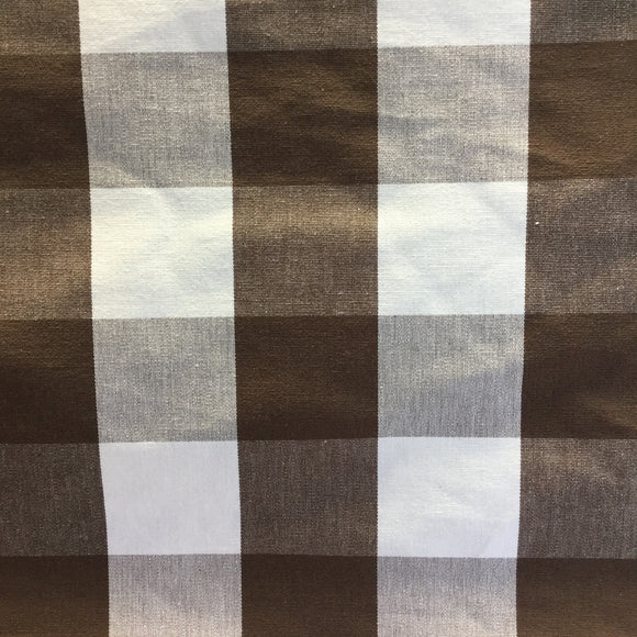 Justin Chocolate Check Decorator Fabric, Upholstery, Drapery, Home Accent, Golding,  Savvy Swatch