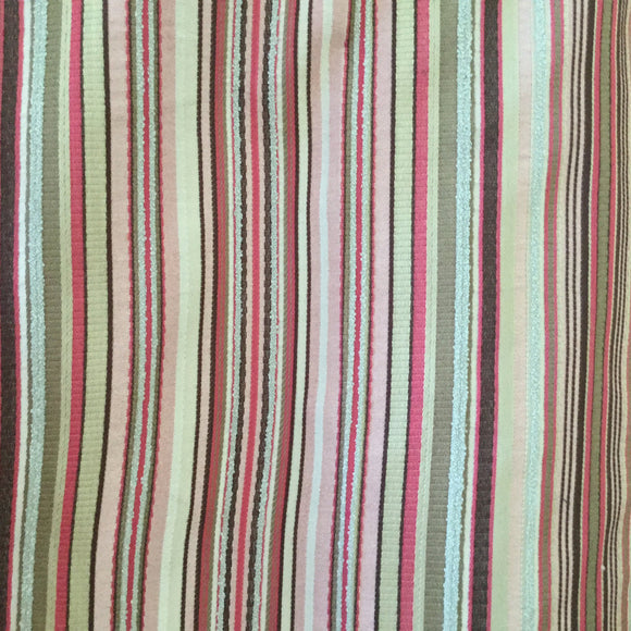 Enola Stripe Truffle Decorator Fabric by Golding, Upholstery, Drapery, Home Accent, Golding,  Savvy Swatch