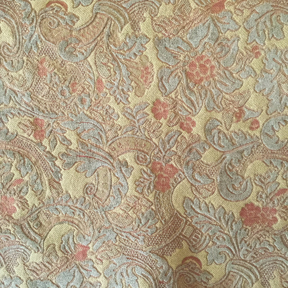 Milano Jade Chenille Vintage Fabric, Upholstery, Drapery, Home Accent, Golding,  Savvy Swatch