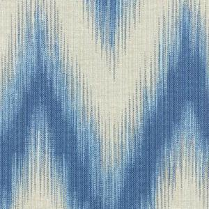 Williamsburg Irby Ikat Ink Fabric