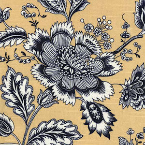 Jeanette America Butter Decorator Fabric by Golding, Upholstery, Drapery, Home Accent, Golding,  Savvy Swatch