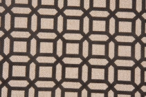 Kelly Graphite LInen Flocked Upholstery Fabric, Upholstery, Drapery, Home Accent, Savvy Swatch,  Savvy Swatch