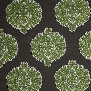 Lacefield Madras Slub Jade Kelly Fabric, Upholstery, Drapery, Home Accent, Premier Textiles,  Savvy Swatch