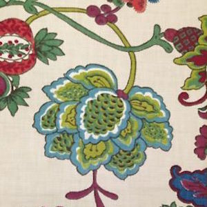 Richloom Lebeau Fruit Punch Decorator Fabric, Upholstery, Drapery, Home Accent, TNT,  Savvy Swatch