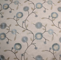 5.3 Yard Piece of Mable Swavelle Mill Creek Porcelain Decorator Fabric B7250