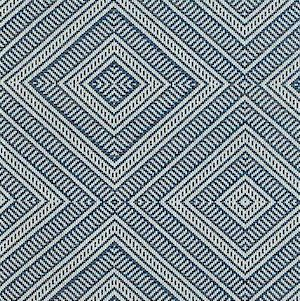 Schumacher Tortola 62841 Marine  Indoor/Outdoor Fabric