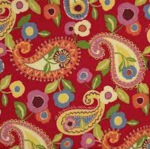 Marisol Cadmium Decorator Fabric by Richloom