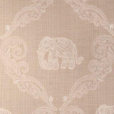 Swavelle/Millcreek Memorable Elephant Fabric in Vellum, Upholstery, Drapery, Home Accent, Swavelle Millcreek,  Savvy Swatch