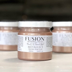 Rose Gold Metallic - Fusion Mineral Paint, Paint, Fusion Mineral Paint,  Savvy Swatch