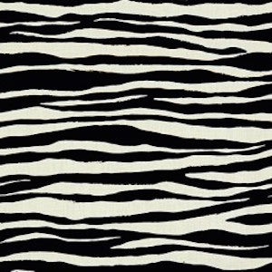 MONA ZEBRA BLACK Fabric