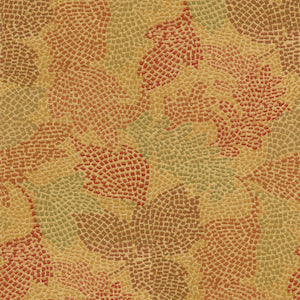 651250 Mosaic Leaves Tuscan Decorator Fabric by Waverly, Upholstery, Drapery, Home Accent, Waverly,  Savvy Swatch