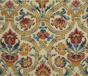 Lee Jofa Fabric 2008174.195 New Sevilla Ruby/Blue (2.3 yd bolt), Upholstery, Drapery, Home Accent, Lee Jofa,  Savvy Swatch