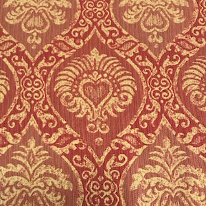 Niko Rouge Decorator Fabric, Upholstery, Drapery, Home Accent, TNT,  Savvy Swatch