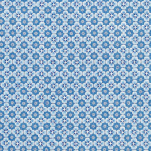 7.25 Yards Palisades Floret Indigo Linen Fabric, Upholstery, Drapery, Home Accent, Tempo,  Savvy Swatch