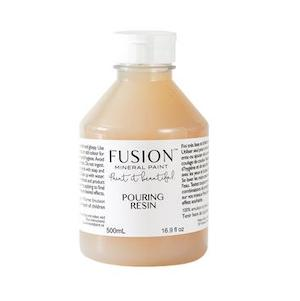 Pouring Resin - Fusion Mineral Paint, Paint, Fusion Mineral Paint,  Savvy Swatch