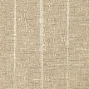 Richloom Fritz Oat with White Stripes Fabric