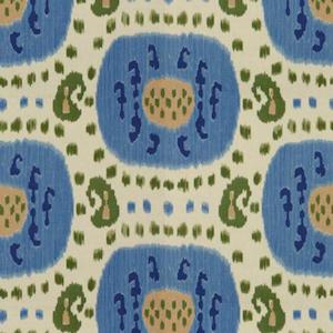 4.7 yards of Samarkand in Canton Blue/Green by Brunschwig & Fils