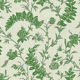 Solomon Seal Laurel Linen Decorator Fabric by PK Lifestyles, Upholstery, Drapery, Home Accent, P/K Lifestyles,  Savvy Swatch