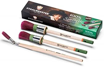 Staalmeester 3 Brush Set (Fusion Mineral Paint)