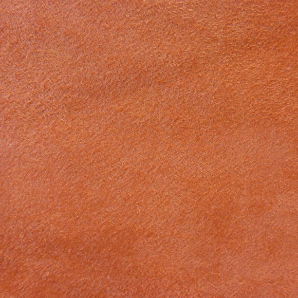 Orange Sueded Microfiber Upholstery and Decorator Fabric, Upholstery, Drapery, Home Accent, Greenhouse,  Savvy Swatch