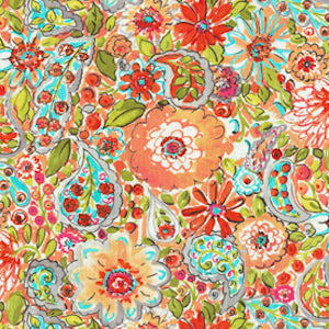 Dena Home Fabric Sweet Summer Sherbert 900242, Upholstery, Drapery, Home Accent, PK Lifestyles,  Savvy Swatch