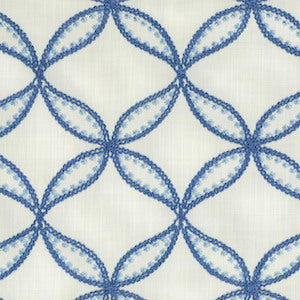 4.4 yards Williamsburg Fabric Tanjib Emb Ink 700271, Upholstery, Drapery, Home Accent, Greenhouse,  Savvy Swatch