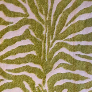 Tassajara Honeydew Chenille Decorator Fabric