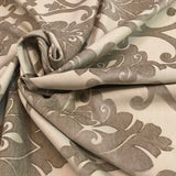 Robert Allen Soft Effects Sandcastle Vichy Natural Decorator Fabric Richloom, Upholstery, Drapery, Home Accent, TNT,  Savvy Swatch