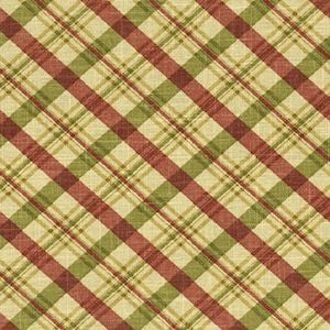 Waverly Chit Chat Plaid in Red/Green