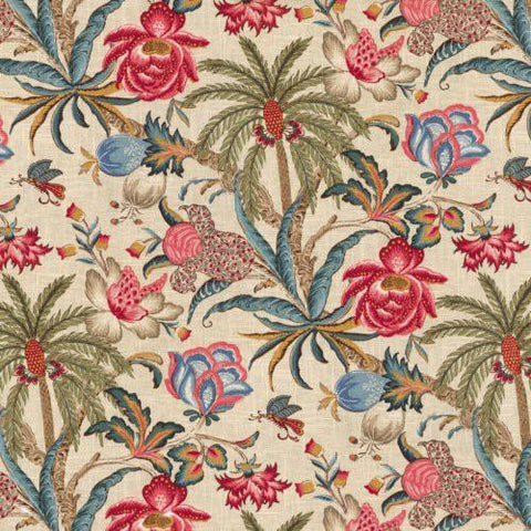 Waverly Exotic Curiosity Jewel Fabric, Upholstery, Drapery, Home Accent, P/K Lifestyles,  Savvy Swatch