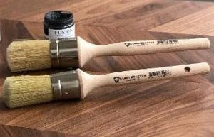 Staalmeester Round Wax Brushes (2 different sizes) - Fusion Mineral Paint