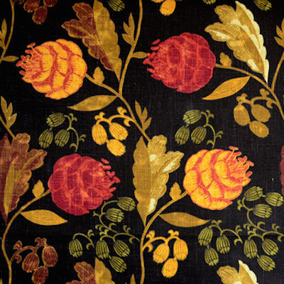 Wendell Raven Decorator Fabric by Richloom, Upholstery, Drapery, Home Accent, TNT,  Savvy Swatch