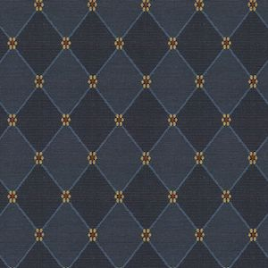 Petite Fleur Royal Peck Navy Decorator Fabric, Upholstery, Drapery, Home Accent, Richloom,  Savvy Swatch
