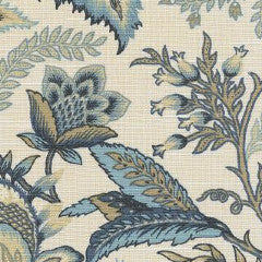 4.25 yards Wicklow Indigo Decorator Fabric by Richloom, Upholstery, Drapery, Home Accent, TNT,  Savvy Swatch