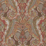"3.5 Yard Piece of ""Sebastain"" in Winter Red Decorator Fabric"