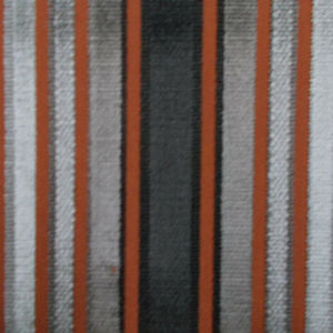 5.6 yards Zoffany Brook Street Amber Cut Velvet Fabric