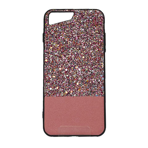 Capa iPhone 6 6S Plus - Glitter Rosa