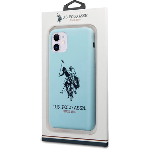 Capa IPhone 11 Polo Ralph Lauren Azul Claro