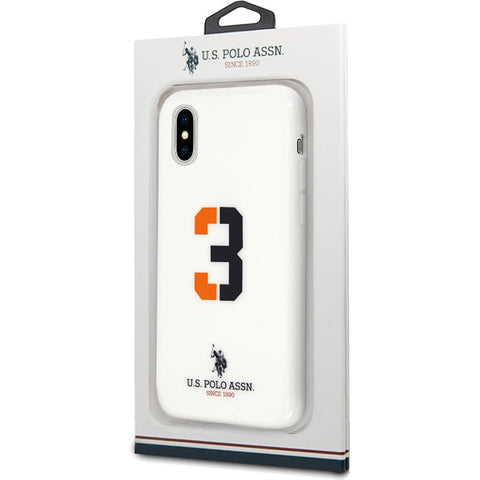 Capa IPhone X / IPhone XS Polo Ralph Lauren Branco