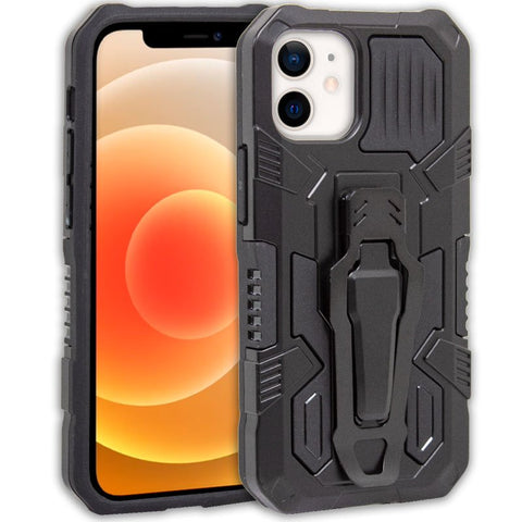 Carcasa iPhone 12 mini Hard Clip Negro