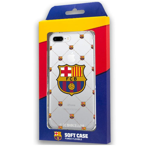Carcasa iPhone 7 Plus / iPhone 8 Plus Licencia Fútbol F.C. Barcelona
